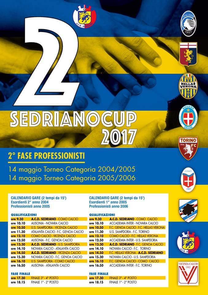 Sedriano Cup 2^ edizione.