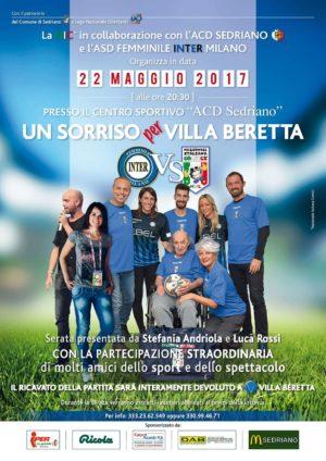 Un sorriso per Villa Beretta